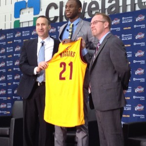 Andrew Wiggins Jersey Photo 6-27-14
