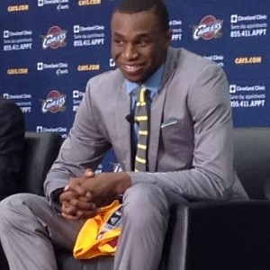Andrew Wiggins photo Sitting & Smiling