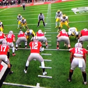 Cardale Jones Backfield Photo