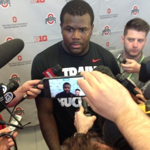 Cardale Jones OSU Photo 4-12-14