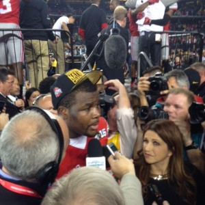 Cardale Jones Postgame Interview On Field Nati Championship 1-12-15
