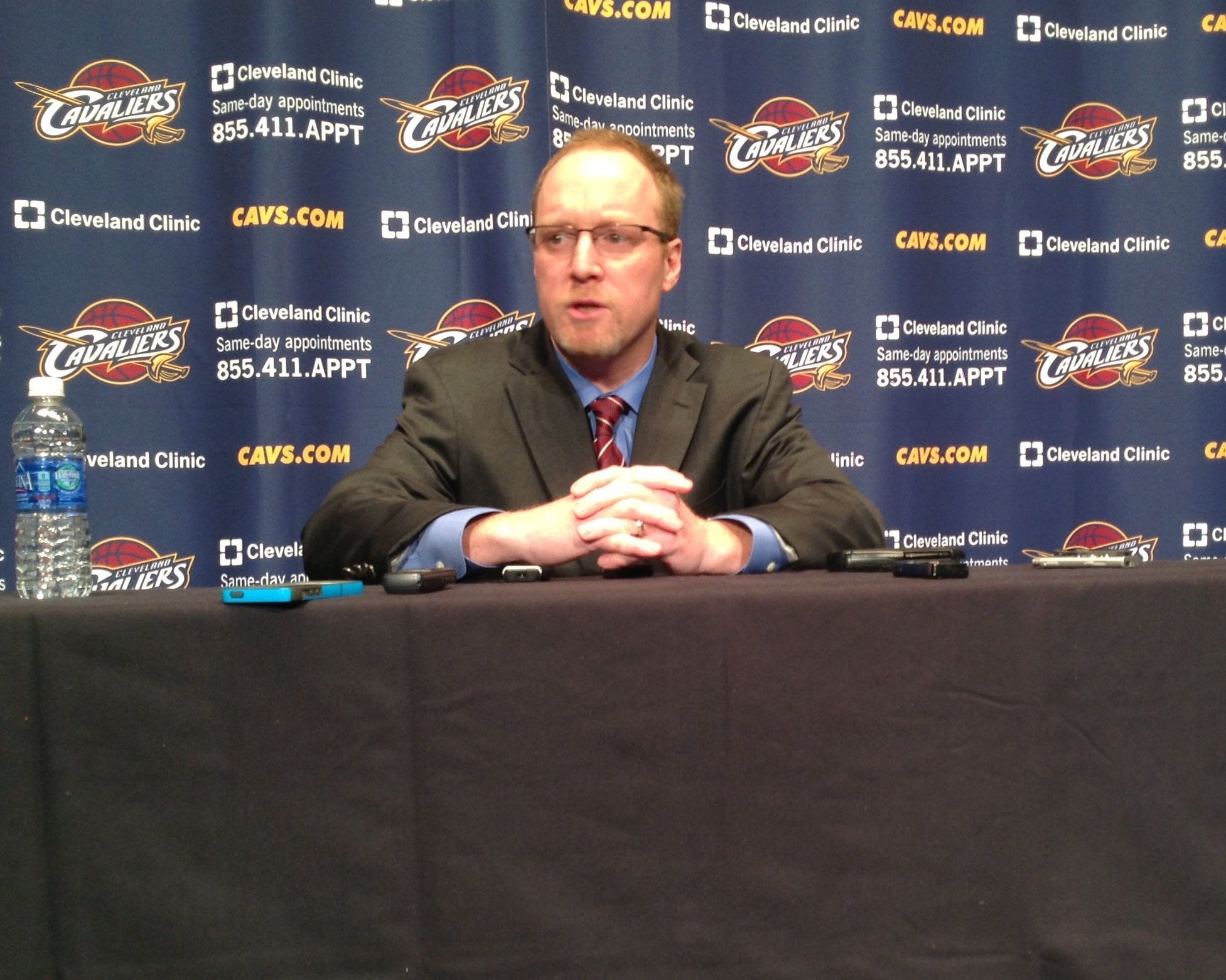 Cavs GM David Griffin