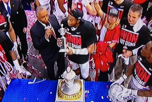 Darron Lee MVP Sugar Bowl
