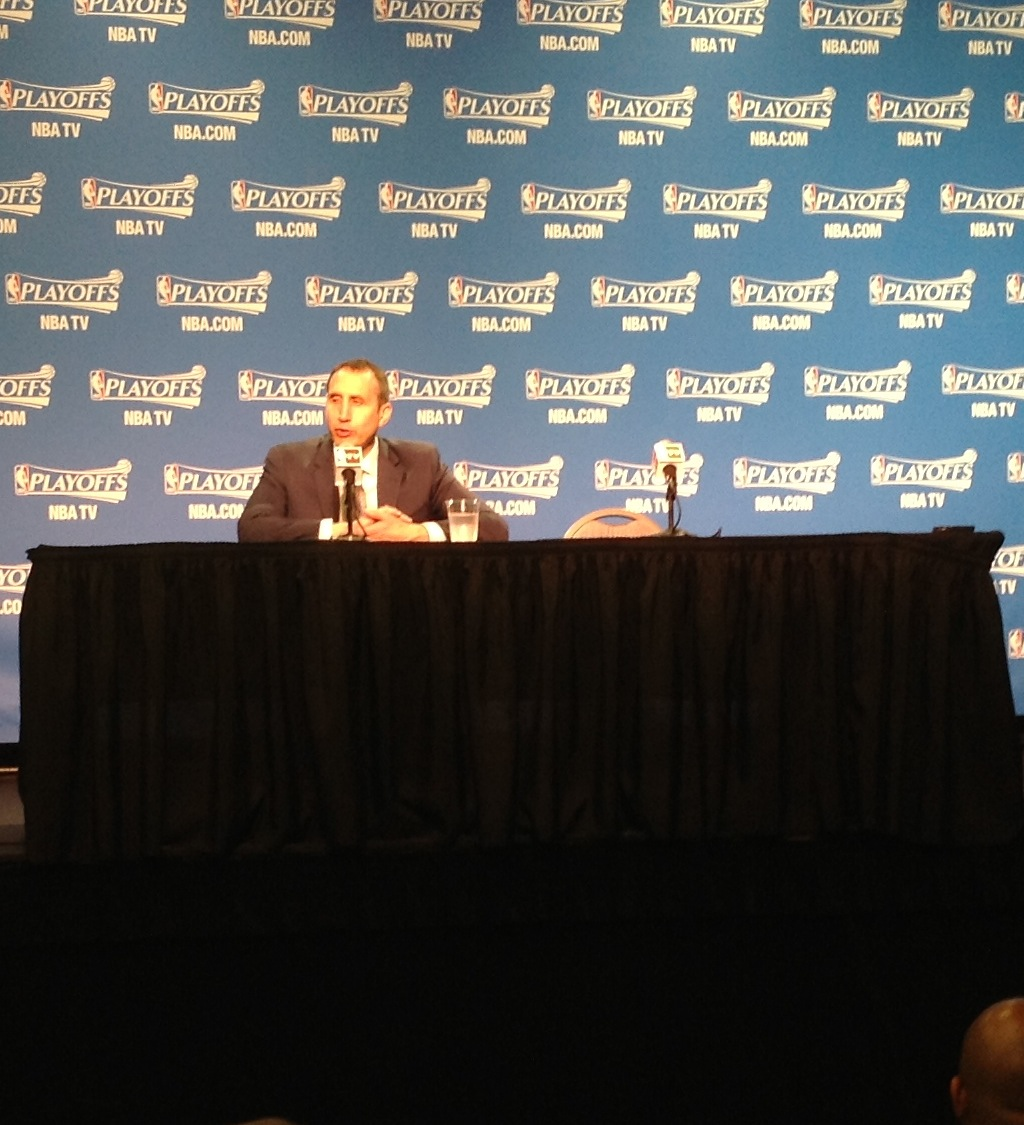 David Blatt Postgame Intv Bulls Game 2