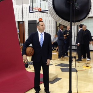David Blatt Solo Photo - Cavs Media Day 2014