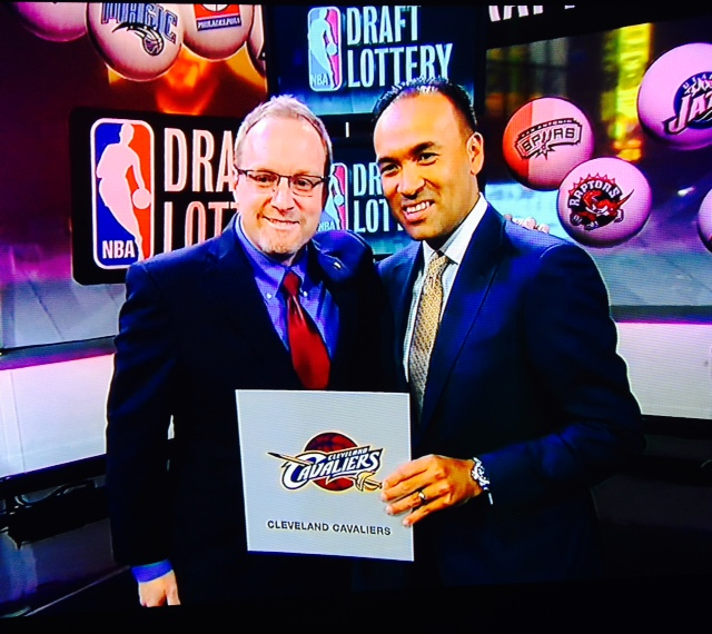 David Griffin 2014 NBA Draft Lottery Photo