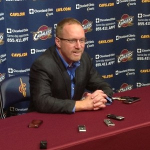 David Griffin Draft Night Photo