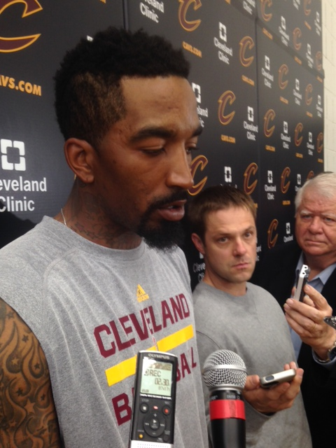 JR Smith After Practice Photo 5-31-15