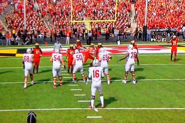 JT Barrett and O-Line vs Maryland