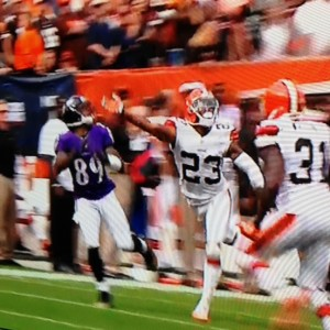 Joe Haden beat by Steve Smith vs Ravens   9-21-14