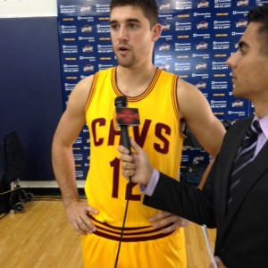 Joe Harris Cavs Media Day 2014