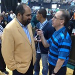Kenny Roda and Franco Harris 5-3-14