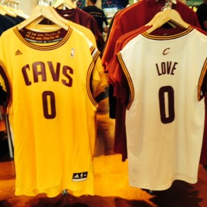 Kevin Love Jerseys