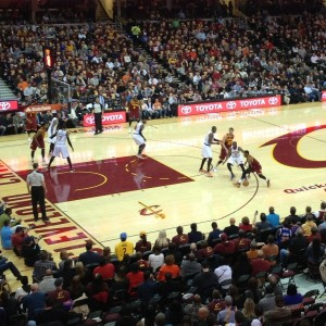 Kyrie Irving In Game Photo - Wide Shot