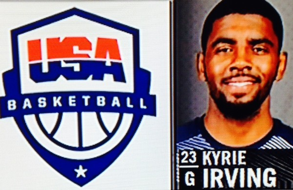 Kyrie Irving USA Photo
