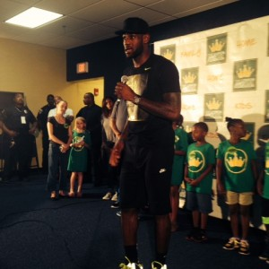 LeBron Homecoming in Akron 2014