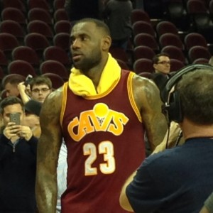 LeBron James Postgame vs OKC 12-17-15