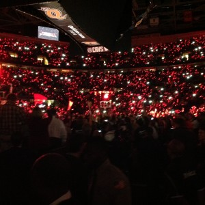 LeBron Returns - Crowd Lights Out - 10-30-14