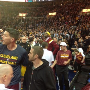Lebron Returns - Lost in the Crowd - 10-30-14
