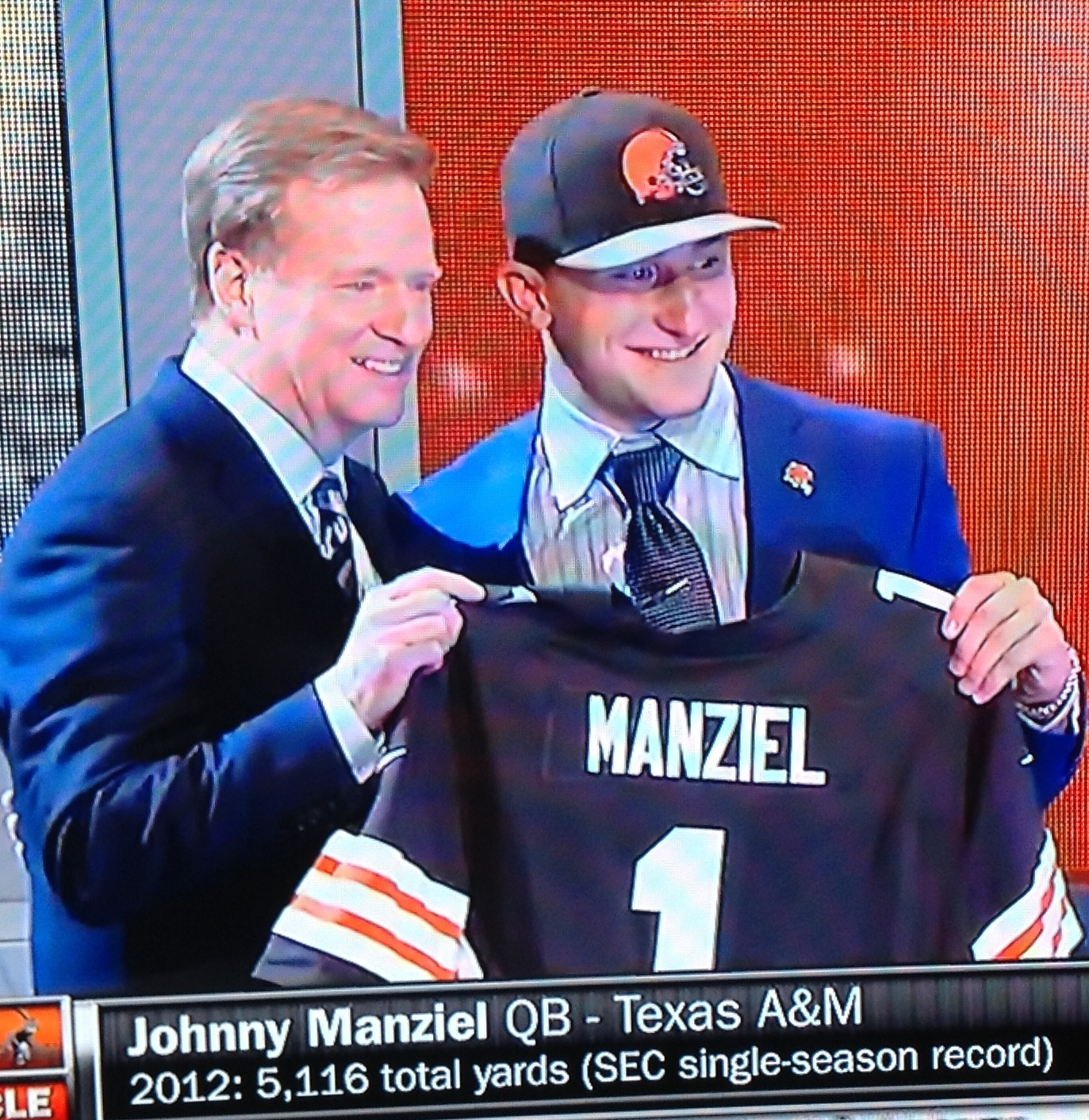 Manziel Jersey - Commish