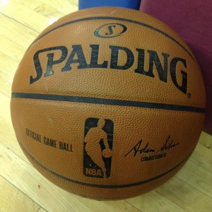 NBA Basketball Close Up