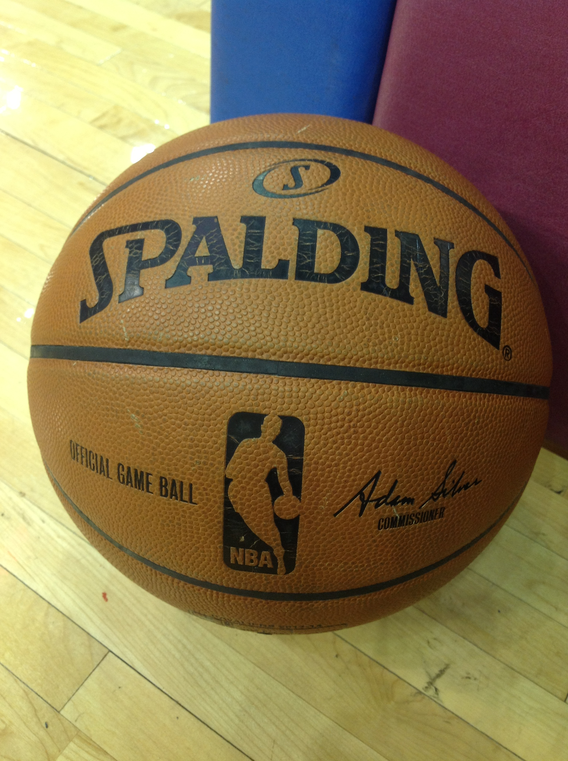 NBA Basketball Close Up