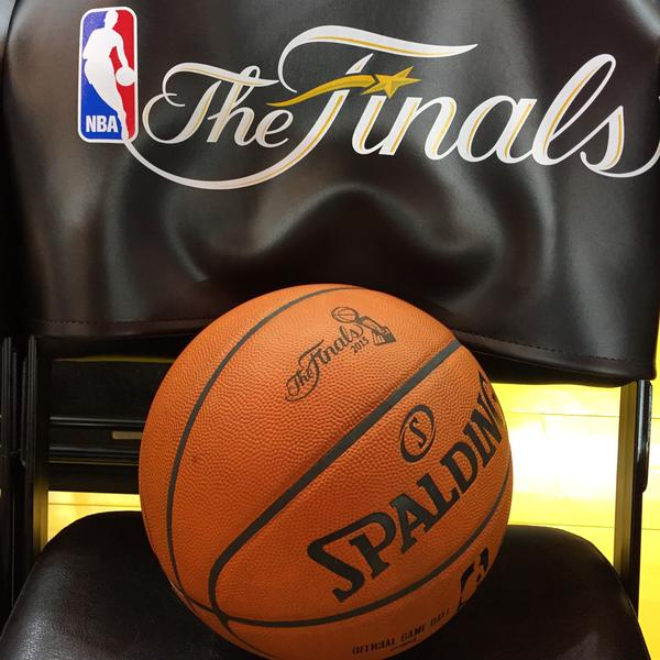 NBA Finals Basketball and Logo