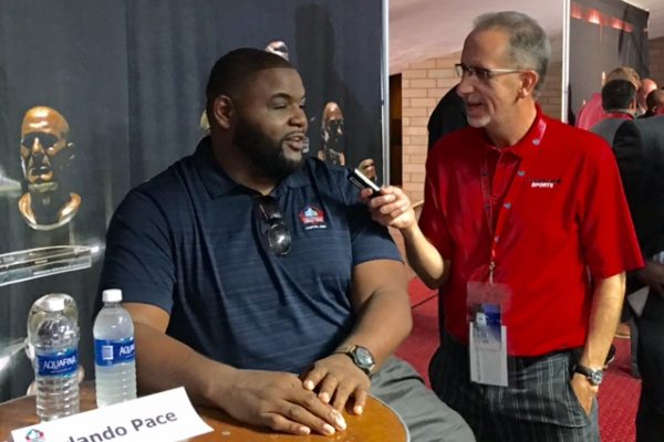 Orlando Pace and Kenny Roda 2016 Hall of Fame Weekend