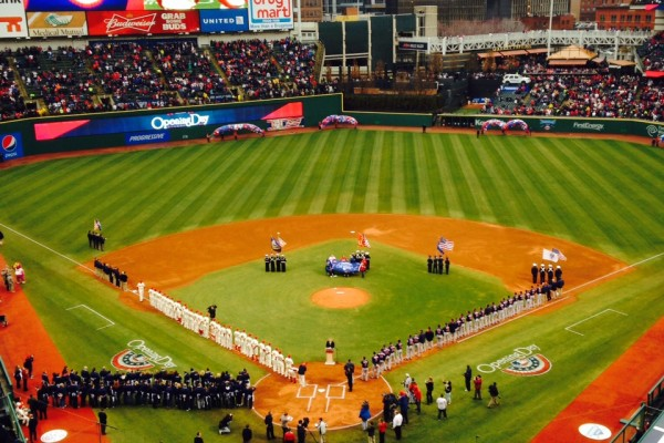 Progressive Field Opening Day 2014