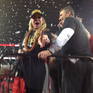 Shelley Meyer Meyer Shows Us Who's Number #1 Nati Championship 1-12-15