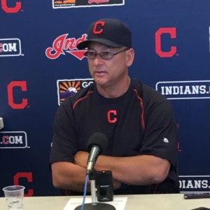 Terry Francona Press Conference Photo Spring Training 2016