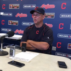 Terry Francona Talking to the Media