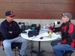 Terry Francona and Kenny Roda Interview Photo - Indians Spring Training 2015