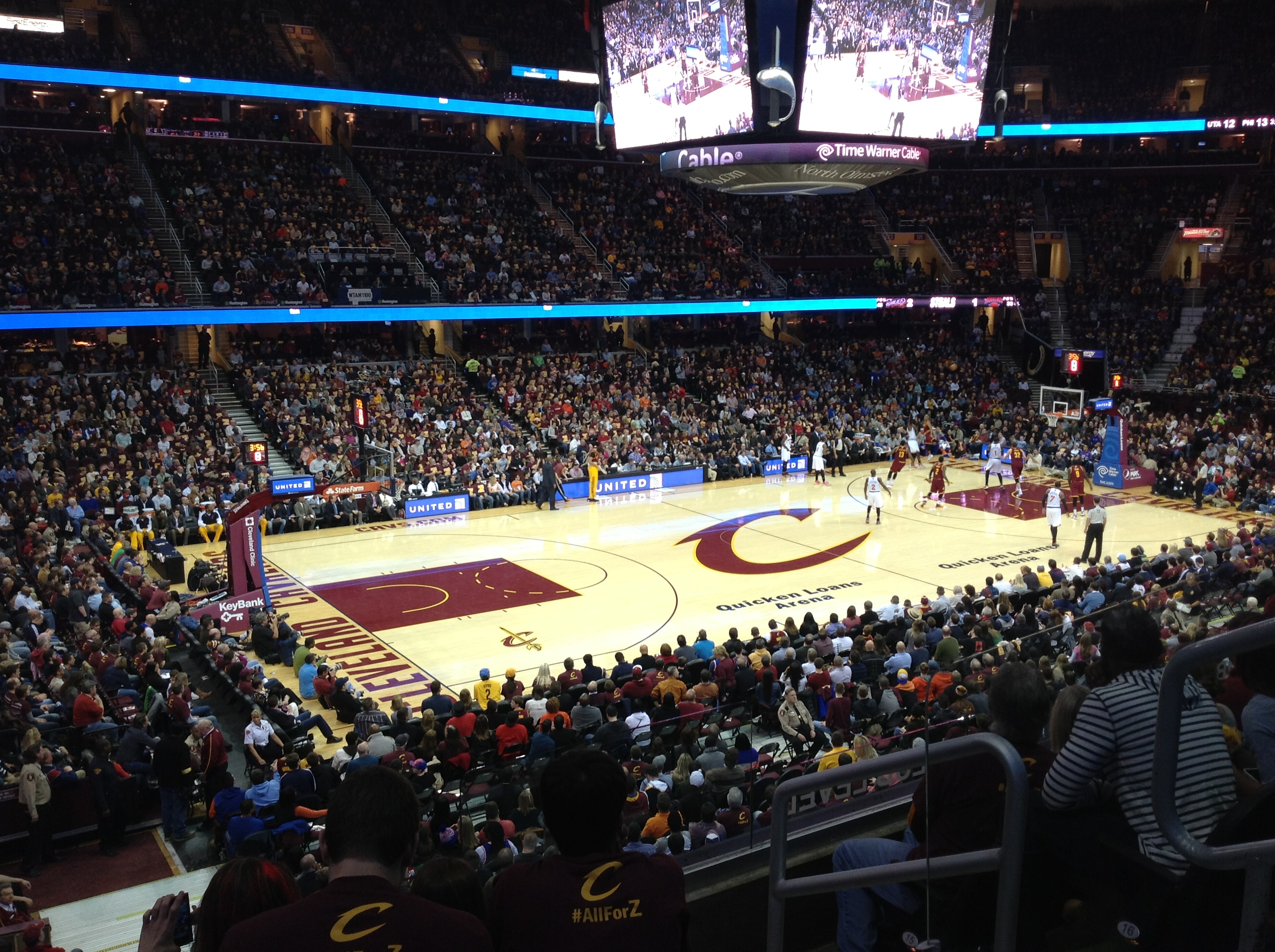 The Q - Wide Shot - In Game