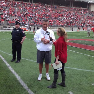 Urban Meyer Spring Game Interview 2014
